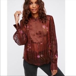 Free people sheer top